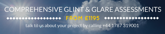 From £1195 - Comprehensive Glint and Glare Assessments are available from Pager Power