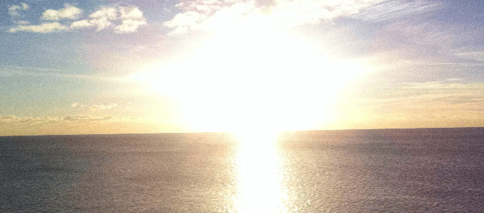 Solar Glare Reflection Water