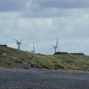 Wind Turbines hidden by Terrain Shielding