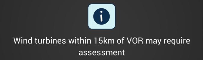 VOR Wind Turbine Interference Guidance 15km