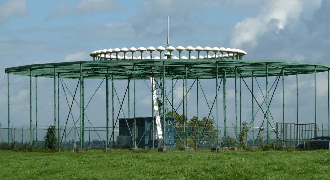 VOR station, aeronautical navigational aid