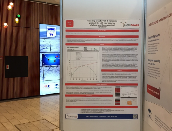 Pager Power EWEA Offshore Poster 2015