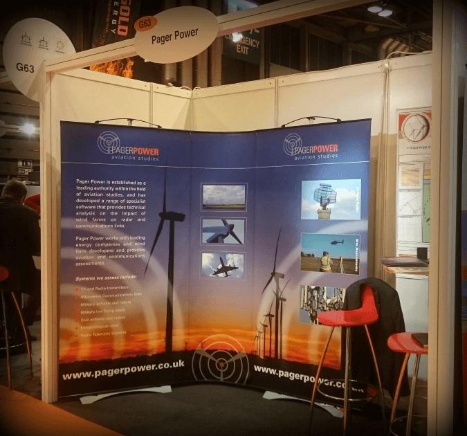 Pager Power Stand at All Energy 2015 in Glasgow