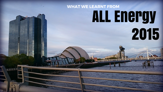 Glasgow SECC All Energy 2015