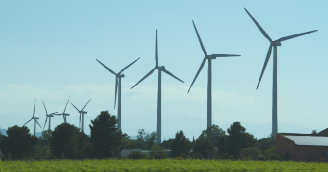 A Wind Farm in France
