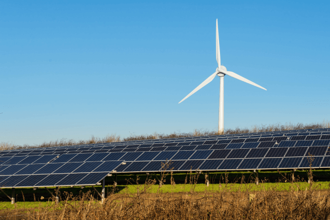 Wind Turbine and Solar Farm, Ireland will rely more on Renewable Technologies in the Future