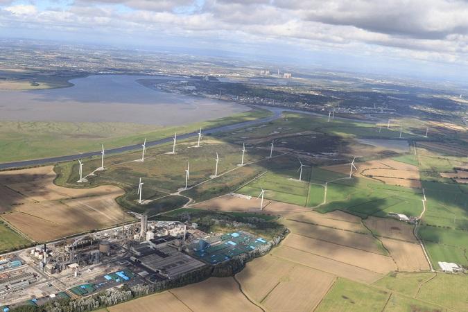 Plan for Frodsham Wind Development
