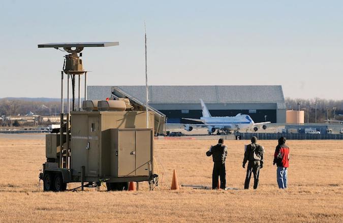 Wind Turbine Lighting Control Radar