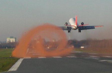 Jet Blast and Wake Turbulence mitigation