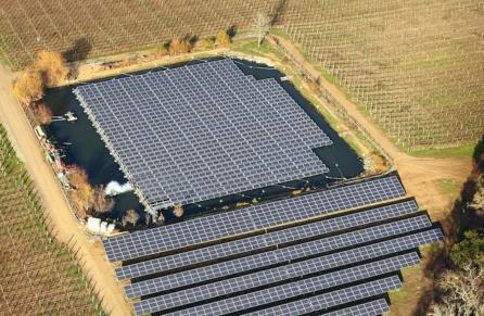 floating solar islands