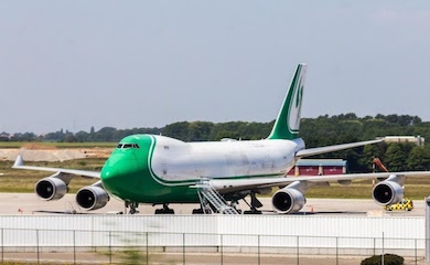 Coronavirus stops most flights