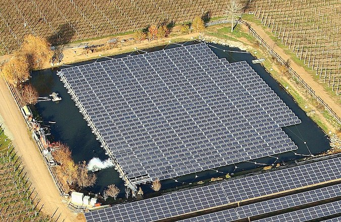 floating photovoltaic
