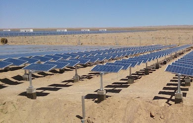solar tracking panels
