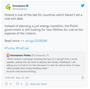 poland polluting power plant